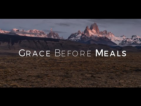 Grace before Meals HD