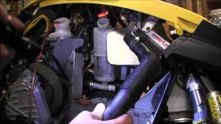 2. Skidoo Rev 800 engine pull part 2 episode 6