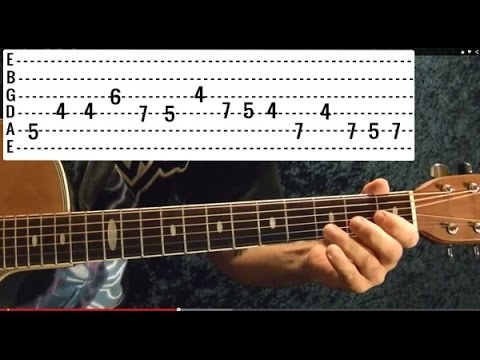 GUNS N ROSES – PATIENCE Solo – How to Play – Free Online Guitar Lessons With Tabs
