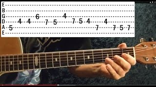 Patience Solo by GUNS N' ROSES - Guitar Lesson - Slash