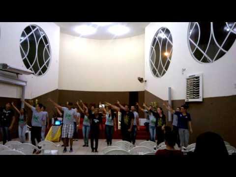 Grupo de dança Jovens Fortes Metodistas Porto Nacional To