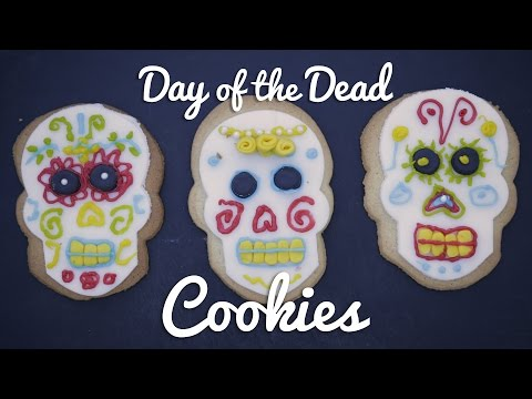 HALLOWEEN IDEAS | Day of the Dead Cookies