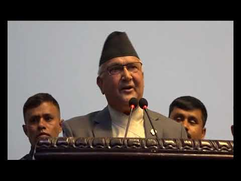(Kp oli speech - Duration: 4 minutes, 23 seconds.)