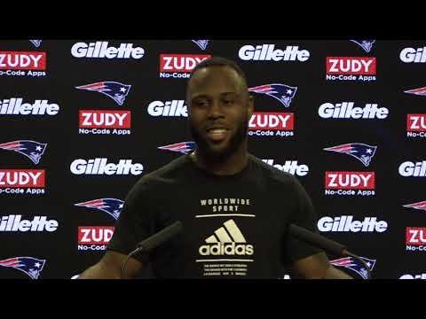 Video: James White Week 14 Patriots vs. Dolphins Wednesday Locker Room