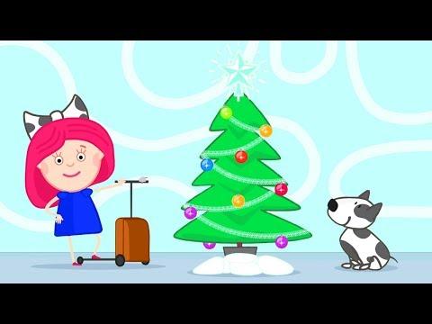 Cartoon für Kinder - Smartas erstes Abenteuer und das Weihnachtsfest