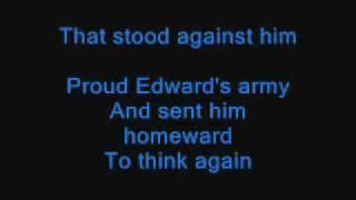 Flower of Scotland sing-along lyrics
