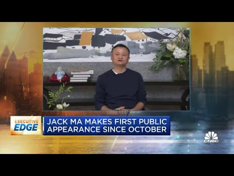 Alibaba's Jack Ma makes first public appearance since October
