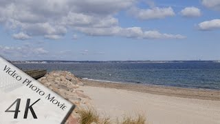 Timmendorfer Strand Germany  city pictures gallery : Niendorf, Timmendorfer Strand, Germany: Strand (Beach), Ostsee (Baltic Sea) - 4K Ultra HD Video