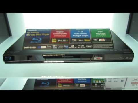 Panasonic DMP-BD80 : lecteur Blu-ray profile 2.0