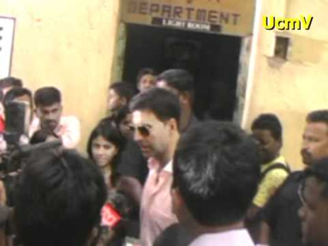 filmistan - Akshay Kumar on Muhurat of Film ANGEL at Filmistan Studio,