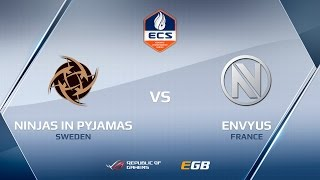 NiP vs EnVyUs, map 1 nuke, ECS Season 2 Europe