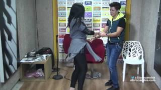 إهاب وحنان يرقصان على إيقاع أغنية مغربية - ستار اكاديمي 11 - 16/12/2015