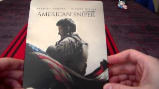 Nonton American Sniper Steelbook Unboxing Fnac Limited Edition Film Subtitle Indonesia Streaming Movie Download