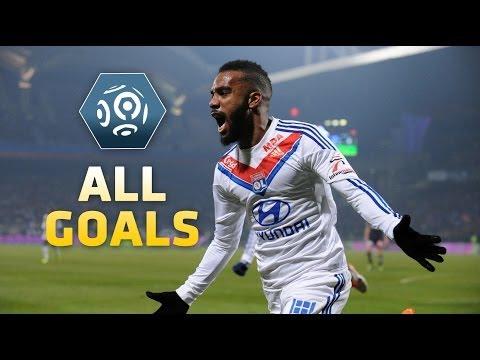 Ligue 1 - Week 18 : Goals compilation - 2013/2014