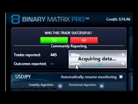 Binary option trading signals software
