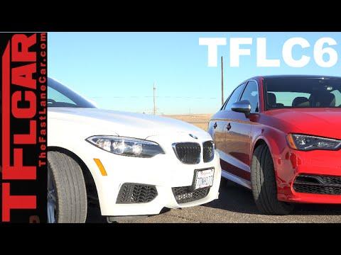 2015 Audi S3 vs BMW 228i Mashup Review & Drag Race: The Fast Lane Car Episode 6