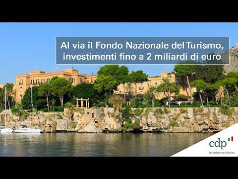 CDP,  nasce il Fondo Nazionale del Turismo. Investimenti fino a 2 miliardi di euro