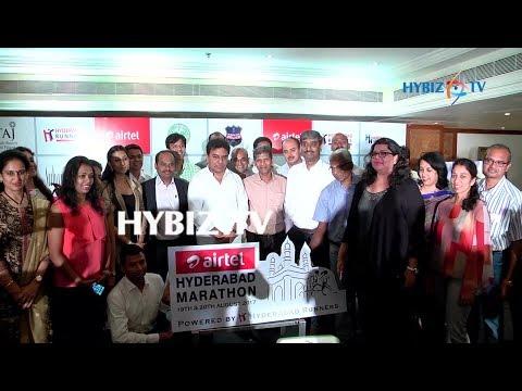 , Airtel Hyderabad Marathon 2017 T-Shirt and Medal