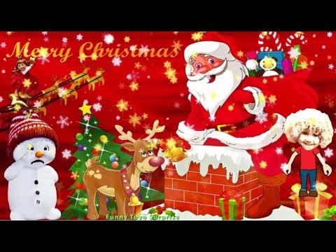 Joy to the World SONG * Merry Christmas Animation - subtitles