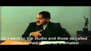 Hitler is informed he's been spotted in a gay porn movie