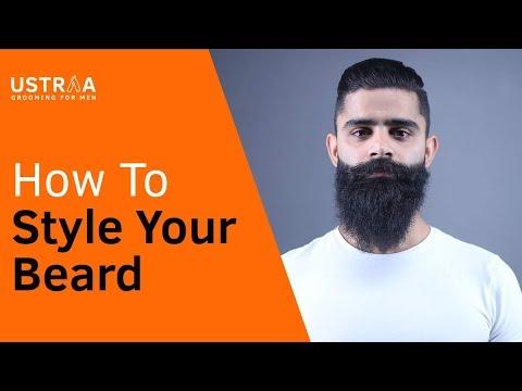 Beard oil - How to style a beard