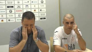 Wypowiedzi po meczu Nbit Gliwice - Rekord Bielsko Biała (5 kolejka)