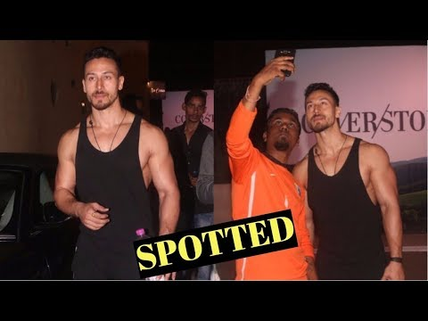 Tiger Shroff Spotted At Bandra Gym