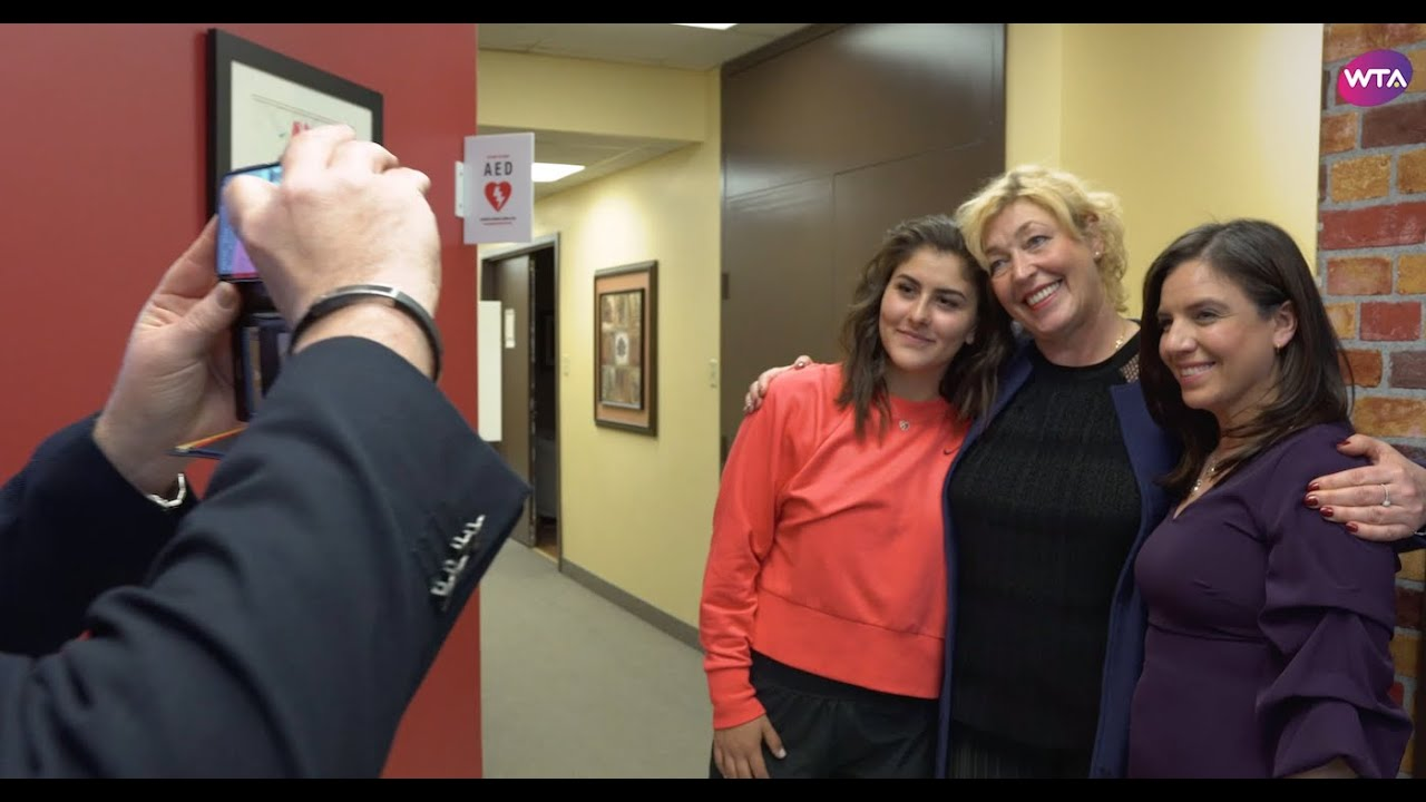Andreescu shows support for charity in Canada