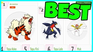 BATTLE SPOT RANKINGS NOW AVAILABLE! Best Pokemon for Sun and Moon WiFi Battles! by Verlisify