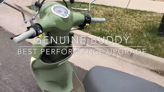7. How to make a Genuine Buddy scooter faster (70cc and variator sliders)