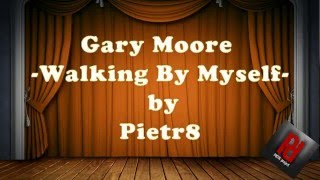 Pietr8project -Gary Moore- Walking By Myself -cover guitar