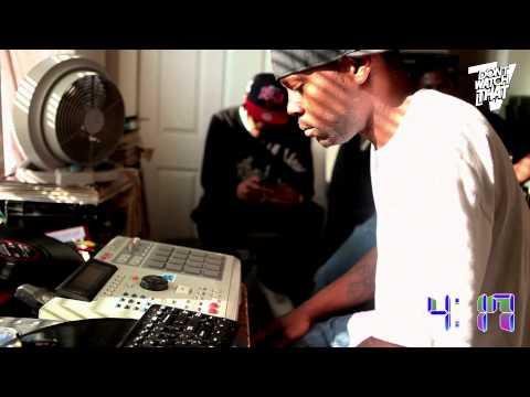 Traxman creando un beat en vivo