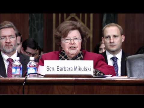 Senator Mikulski Testifies Before Senate Judiciary Committee on Visa Waiver Legislation for Poland