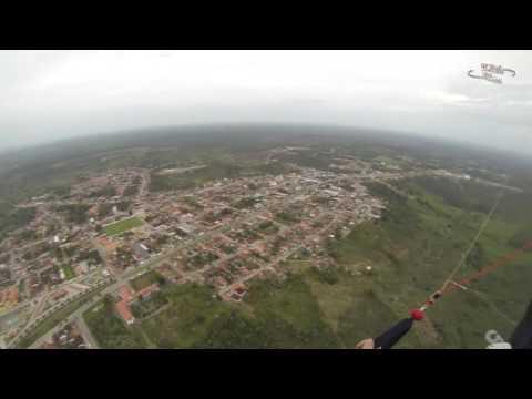 CIDADE DE ESPLANADA - BAHIA - BRASIL  VOO SOBRE A CIDADE
