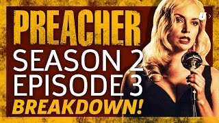 """Team Preacher makes it to New Orleans and you know what that means: bar hopping on Bourbon Street and an S&M dalmatian dude. Ryan tries to make sense of it all in this recap of Preacher Episode 3, """"Damsels."""""""