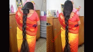 Knee Length Extra Very Thick Braid Making by Man
