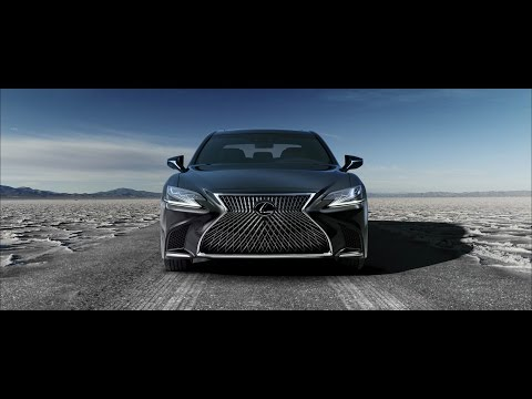 The all-new Lexus LS 500h with new Multi Stage Hybrid System