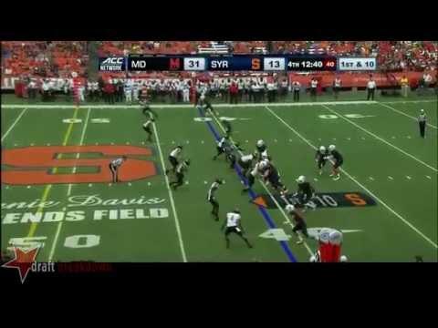 Darius Kilgo vs Syracuse 2014 video.
