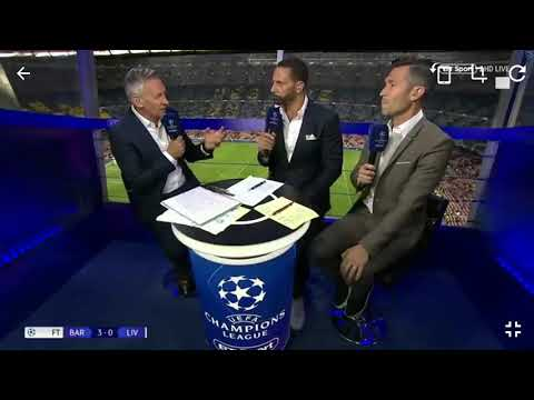 Barcelona 3 – Liverpool 0 – Post match reaction – Luis Garcia and Rio Ferdinand