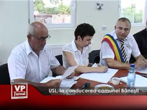 USL, la conducerea comunei Băneşti