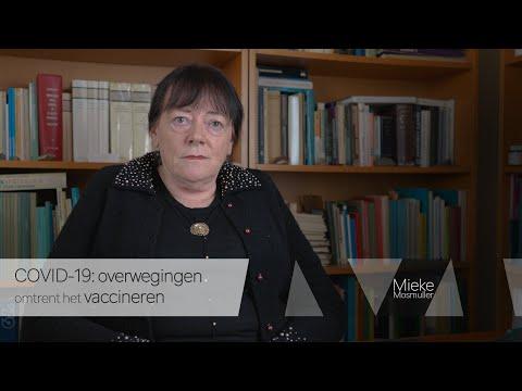 COVID-19: overwegingen omtrent het vaccineren
