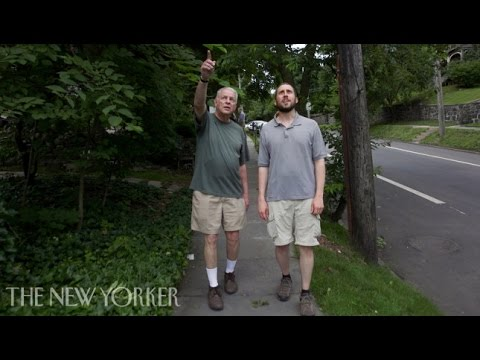 The two men walking every block in New York City