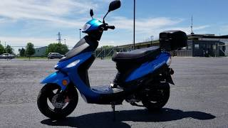 8. 50cc Maui Dreamer Scooter Moped ATM50A1 For Sale From SaferWholesale.com