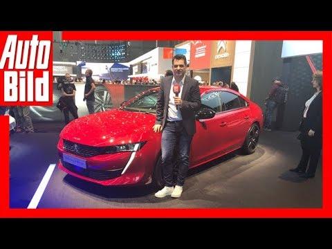 Peugeot 508 II (Genf 2018) Sitzprobe/Details/Erklärun ...
