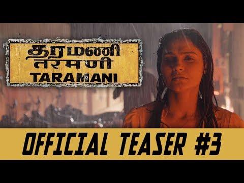 Taramani - Official Teaser 3 | Andrea Jeremiah, Vasanth Ravi | Yuvan Shankar Raja | Ram
