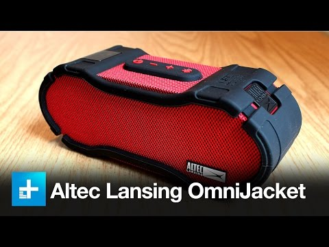 Altec Lansing OmniJacket Bluetooth Speaker Review