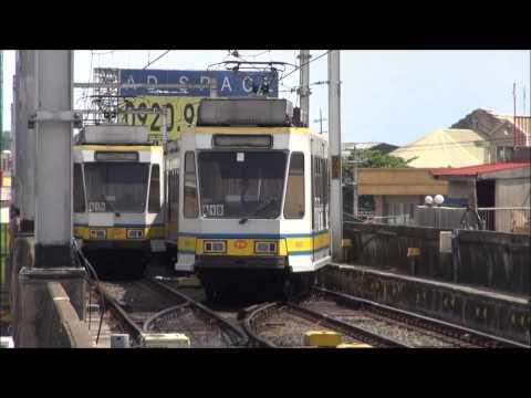 LRT - Baclaran LRT Station.