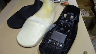 10. How to lower the motorcycle seat. (SUZUKI V-Strom 650ABS  VP56A DL650)