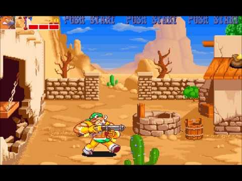 MAMECADE  19: Wild West C.O.W.BOYS of Moo Mesa Arcade Game
