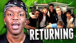 Returning to the Sidemen House